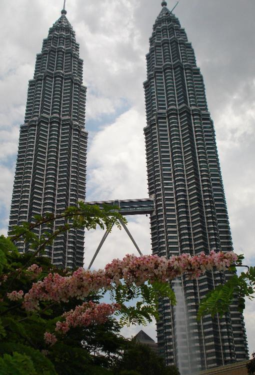 Malaysia, Twin towers in Kuala Lumpur