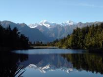 New Zealand, Lake Matheson