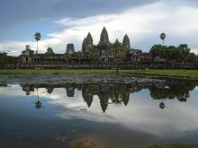 Part of the Angkor Wat temple complex in Cambodia