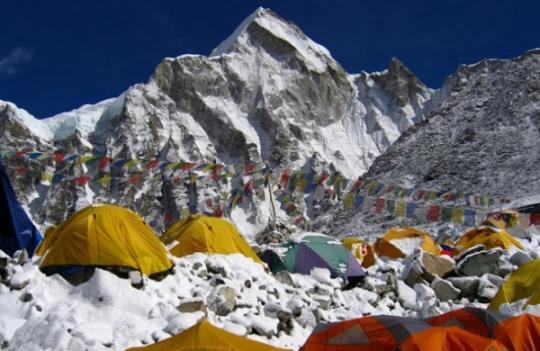 Nepal, Mount Everest base camp