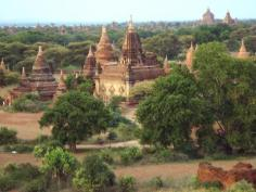 Temples and pagodas in Bagan, Mandalay, Myanmar