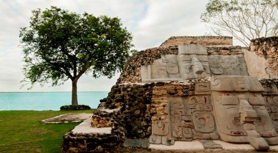 Belize, Cerros, Mayan ruins