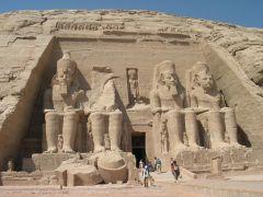 Egypt, Statues of Pharaoh-Ramses-II