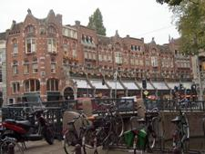 Netherland, bicylcles and buildings