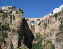 Spain, Ronda, Gorge bridge