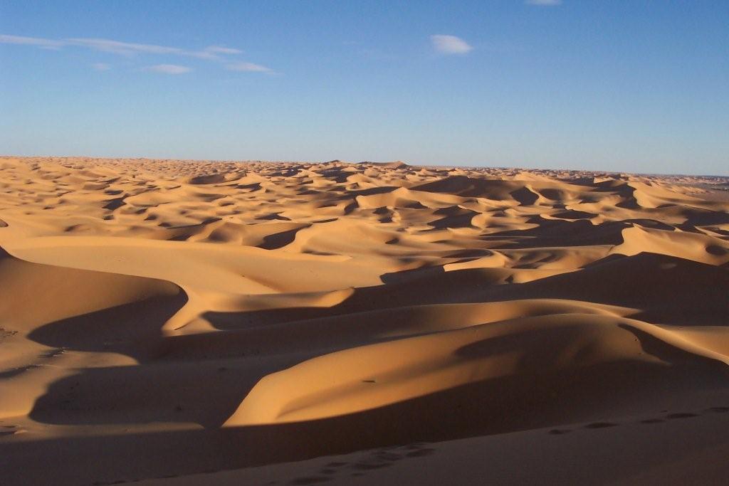 Algeria, Sahara, dunes