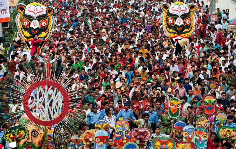 Bangladesh, Boishakh festival