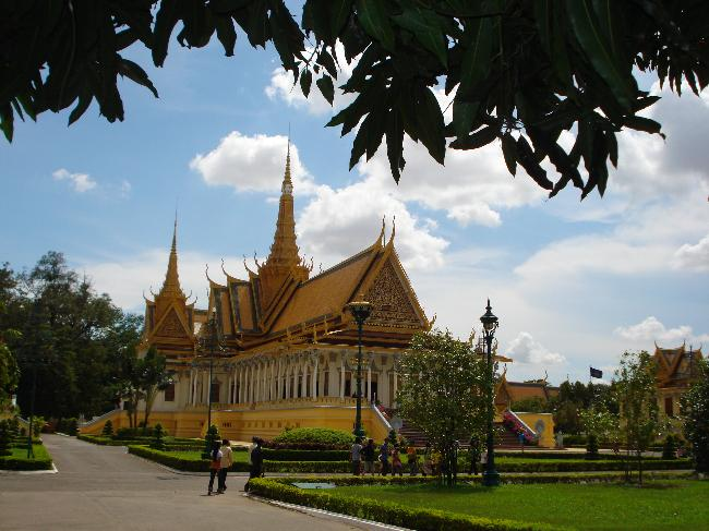 Royal Throne Hall in Phnom Penh, Cambodia