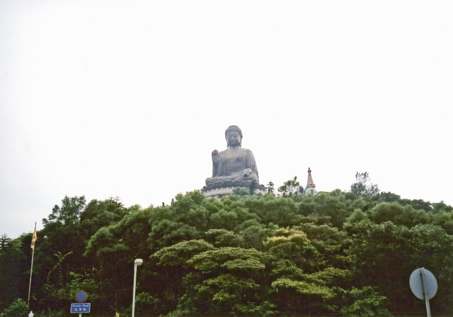 Hong Kong, Lantau Island, The Tian Tan Great Buddha