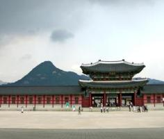 South Korea, Seoul, Gyeongbokgung Palace