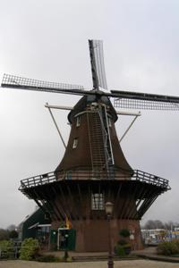 Netherlands, Sloten windmill
