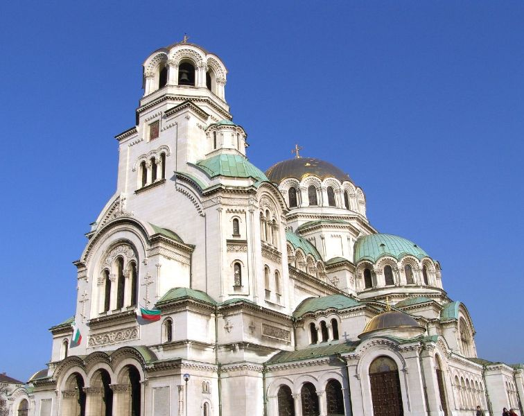 Bulgaria, Sofia, church