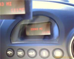 Temperature display 111 Farenheit